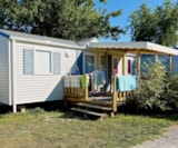 Rental - Mobile Home Tamaris Confort 31M² - 3 Bedrooms - Flower Camping Les Pins ROYAN