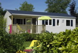 Rental - Mobile Home Pacifique Xl Confort 35M² - 3 Bedrooms - Flower Camping Les Pins ROYAN
