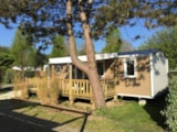 Rental - Cottage Premium 35M² - 3 Bedrooms - Flower Camping Les Pins ROYAN