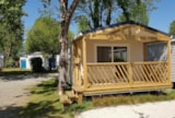Rental - Cottage Bay Premium 28M² - 2 Bedrooms - Flower Camping Les Pins ROYAN