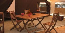 Tent Safari CONFORT PLUS 37m² (2 kamers)