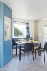Rental - Cottage adapted for the disabled 2 bedrooms 34m² - Flower Camping LE CABELLOU PLAGE