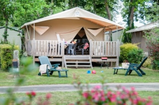 Tent « Canada » On Stilts – 4/5P. 20M² - 2 Bedrooms