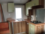 Rental - Mobile home SANTORIN 32m² (3 bedrooms) with terrace + air-conditioning - Nai'a Village - Soleil Bleu by Nai'a