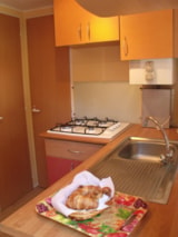 Rental - Mobile home IKARIA  18m² (2 bedrooms) with terrace - Nai'a Village - Soleil Bleu by Nai'a