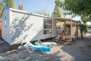 Mobile Home Perle 24M² (2 Bedrooms) With Terrace + Air-Conditioning