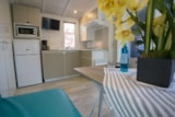 Rental - Mobile home PERLE 24m² (2 bedrooms) with terrace + air-conditioning - Nai'a Village - Soleil Bleu by Nai'a