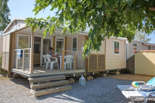 Mobile Home Hibiscus 25M² (2 Bedrooms) With Terrace + Air-Conditioning