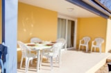Rental - Mobile home LAGON 30m² (2 bedrooms) with terrace + air-conditioning - Nai'a Village - Soleil Bleu by Nai'a