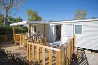 Mobile Home Mahina  30M² (2 Bedrooms) With Terrace + Air-Conditioning