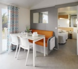 Rental - Mobile home MAHINA  30m² (2 bedrooms) with terrace + air-conditioning - Nai'a Village - Soleil Bleu by Nai'a