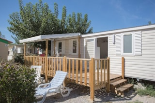 Mobile Home Ohana 28M² (3 Bedrooms) With Terrace + Air-Conditioning