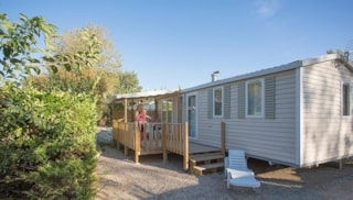 Mobile Home Tangaroa 32M² (3 Bedrooms) With Terrace + Air-Conditioning