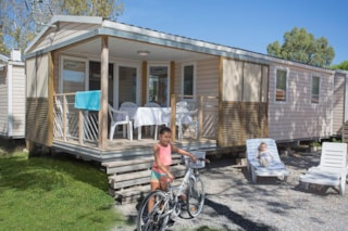 Mobile Home Neptune 32M² (3 Bedrooms) With Terrace + Air-Conditioning
