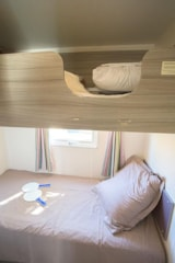 Rental - Mobile home NEPTUNE 32m² (3 bedrooms) with terrace + air-conditioning - Nai'a Village - Soleil Bleu by Nai'a