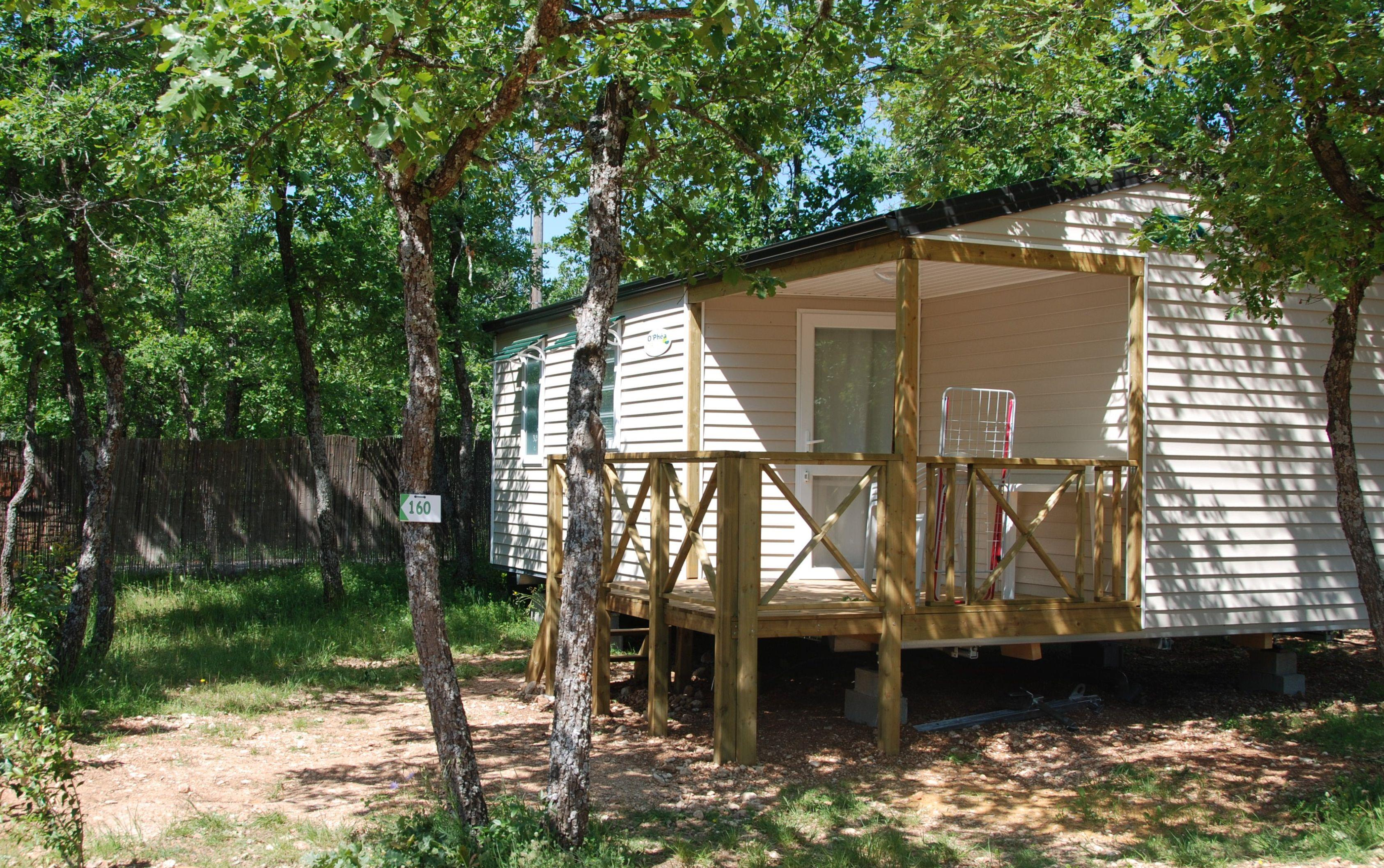 Location - Mobilhome Confort+ - Camping Les Chênes Blancs