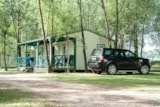 Rental - Chalet Vanille 32M² - 3 Bedrooms - Camping Sites et Paysages LES SAULES - Cheverny