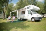 Pitch - Package Confort : Pitch + Car + Tent Or Caravan + Electricity - Camping Sites et Paysages LES SAULES - Cheverny