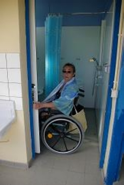 Wheelchair friendly Camping Le Tenzor De La Baie - Cherrueix