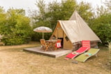 Rental - Tent Tipi - 2 Bedrooms - Without Toilet Blocks - Castel Le Petit Trianon