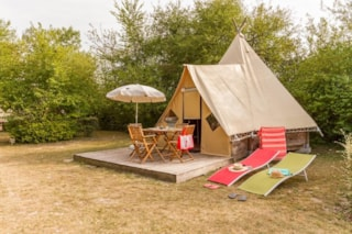 Tent Tipi - 2 Bedrooms - Without Toilet Blocks
