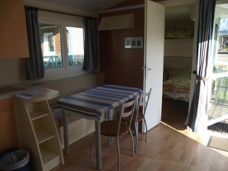 Mobil Home Pacifique 30M² - 2 Bedrooms / Half-Covered Terrace