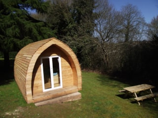Wooden Cabin Pod 13M² (Without Toilet Blocks)