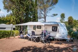 Pitch - 'Standard' Pitch (Caravan/Campervan, Attention: No Tent) - Esterel Caravaning