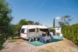 Pitch - 'Luxe' Pitch (Caravan/Campervan, Attention: No Tent) With Private Bathroom - Esterel Caravaning