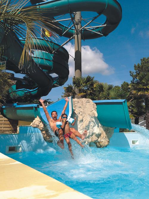 Zonas de baño Aquatique Club Camping LA PINEDE - LES MATHES