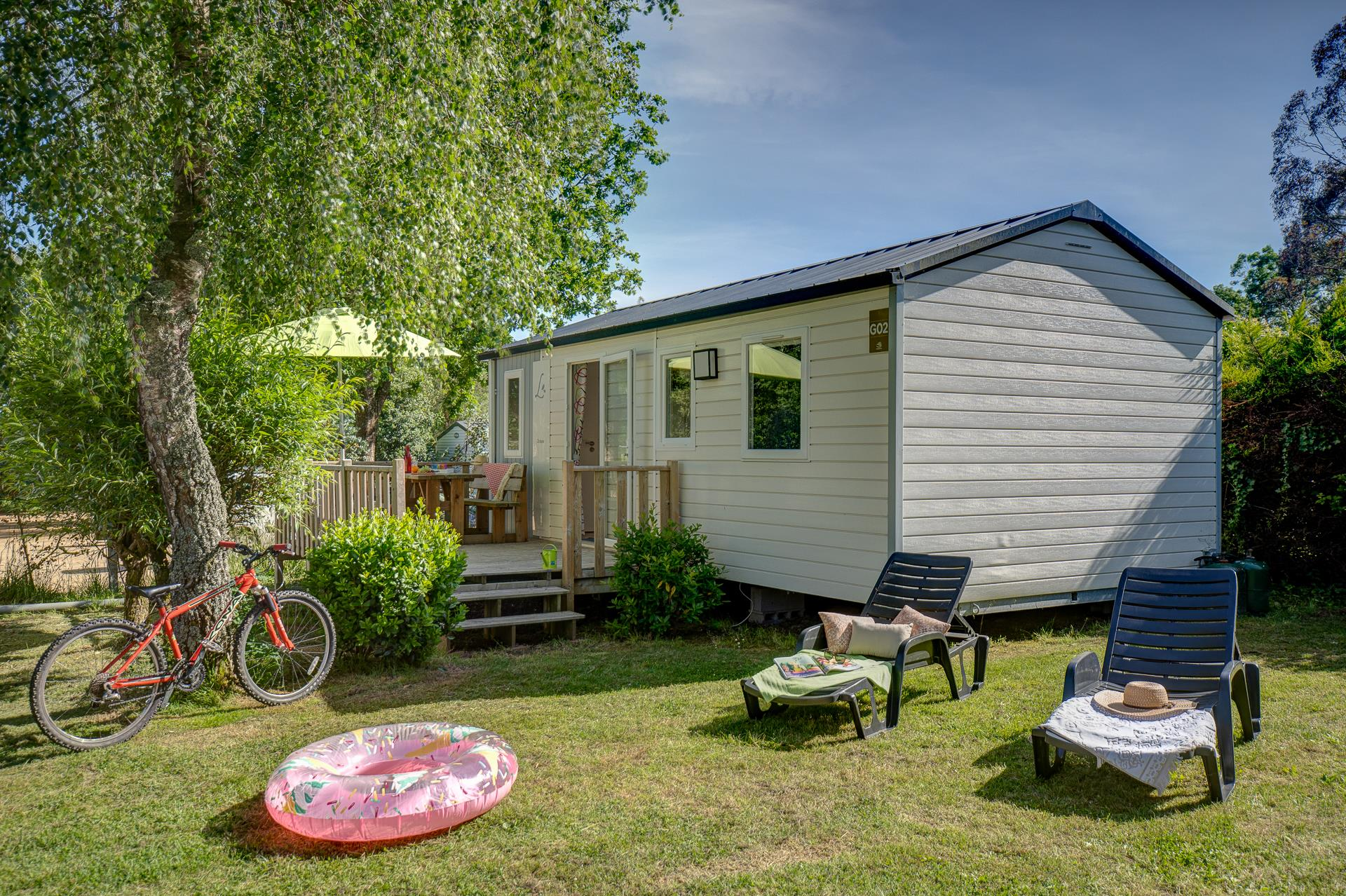 Location - Cottage 2 Chambres** - Camping Sandaya Les Deux Fontaines