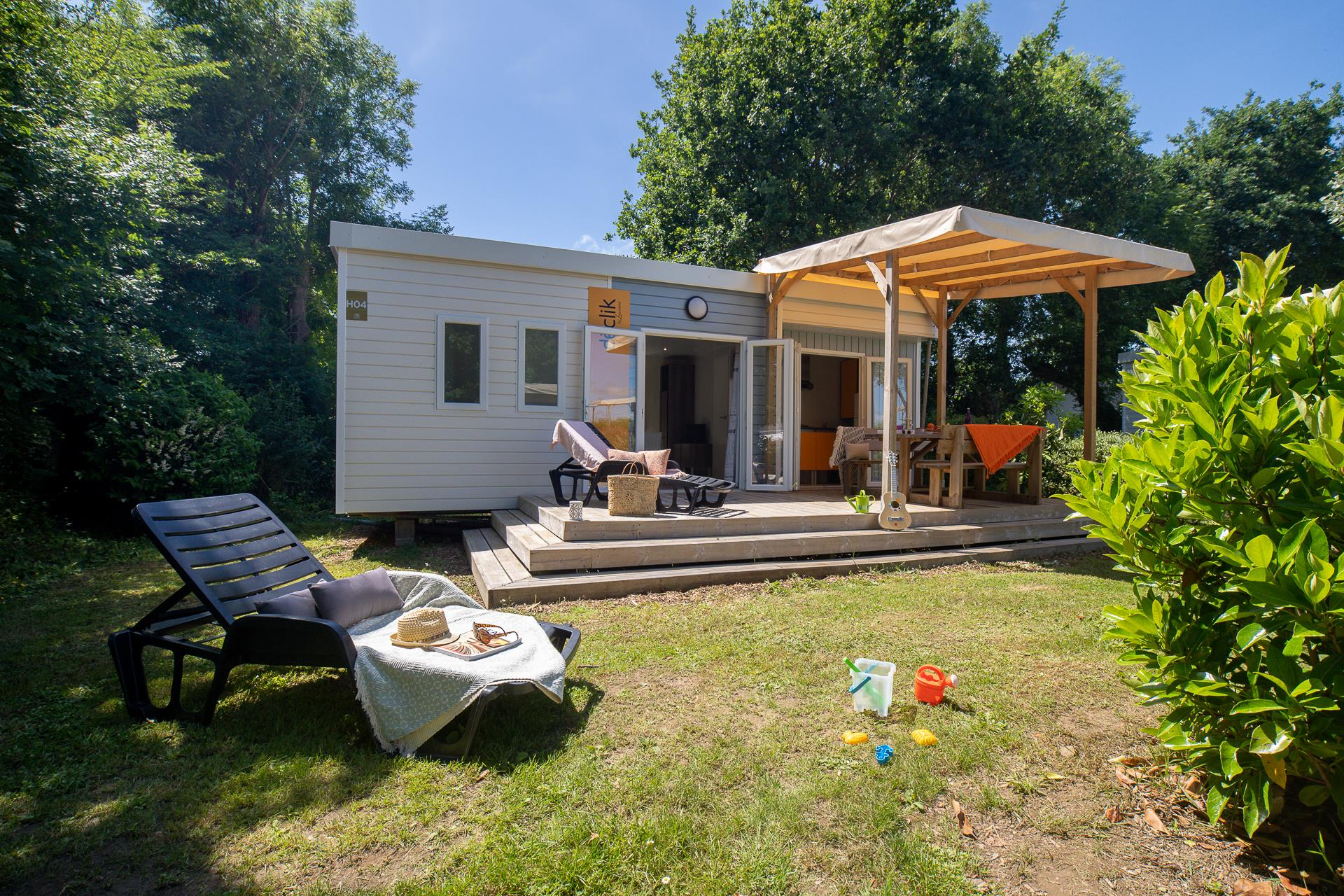 Location - Cottage 2 Chambres*** - Camping Sandaya Les Deux Fontaines