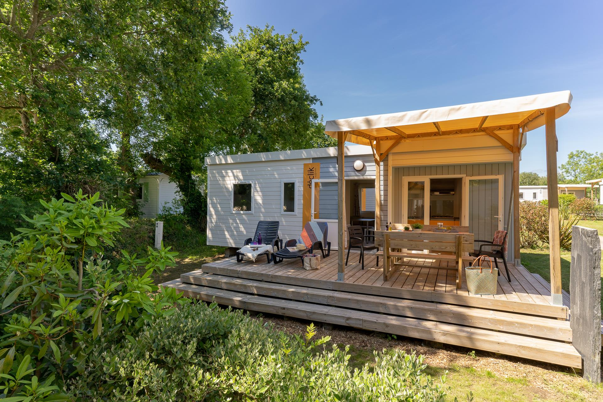 Location - Cottage 3 Chambres Tv*** - Camping Sandaya Les Deux Fontaines