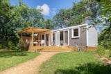 Rental - Cottage Naïade 3 Bedrooms, 2 Bathrooms + Airconditioning Premium - Camping Sandaya Les 2 Fontaines