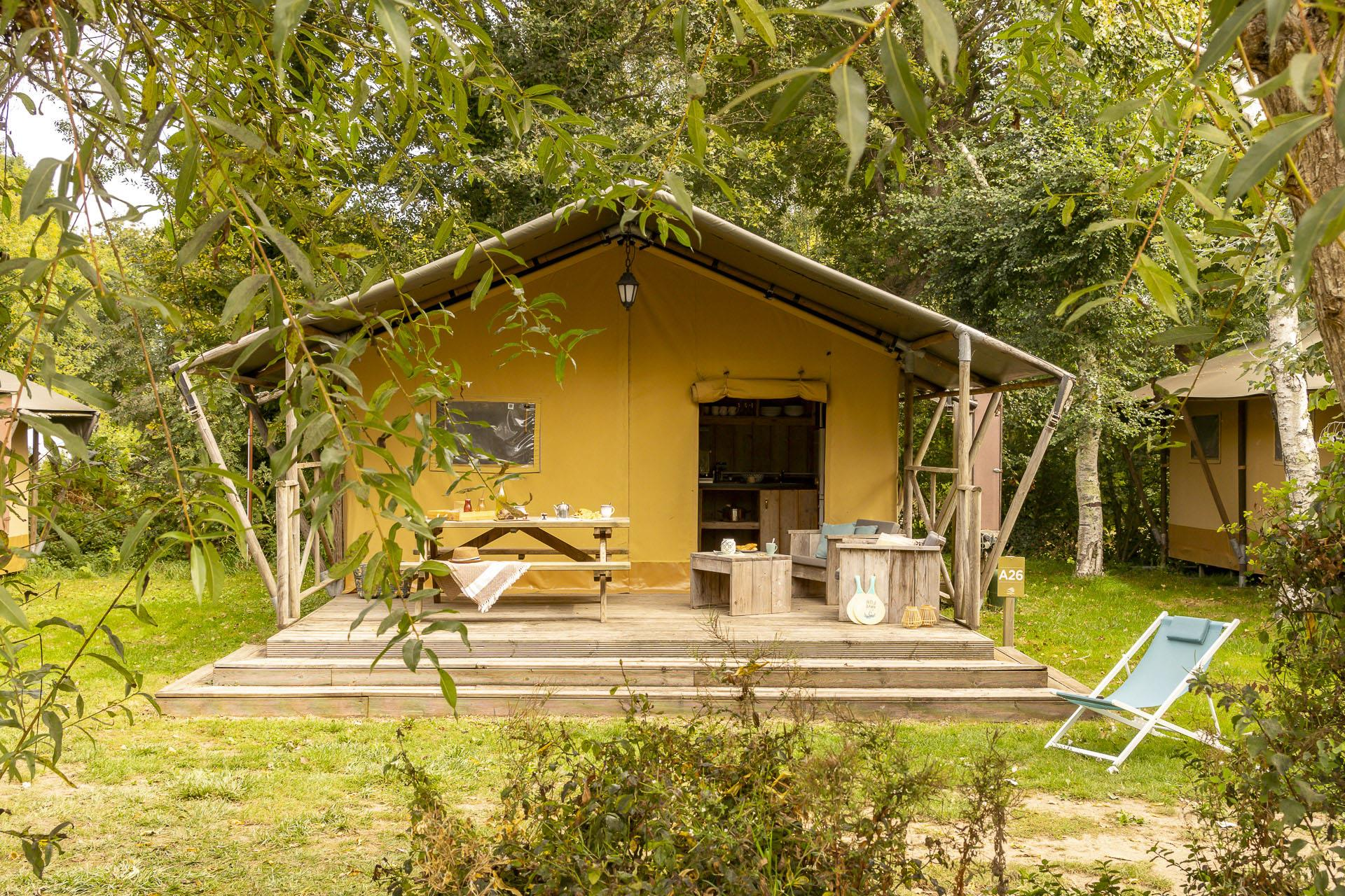 Location - Lodge **** 2 Chambres - Camping Sandaya Les Deux Fontaines