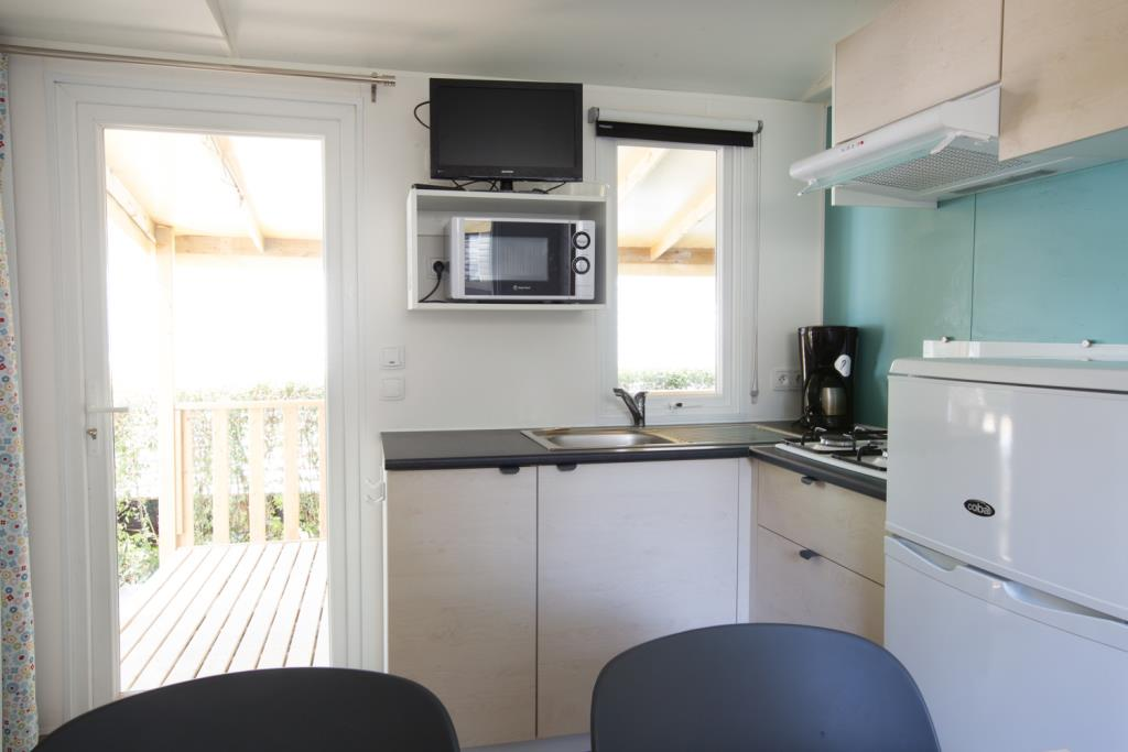 Mobilhome 23M² (2 Chambres)