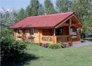 Chalet Canadian - 35 M² - Terrace (2 Bedrooms)
