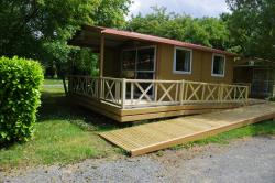 Chalet adapted to the people with reduced mobility - 24 sqm (terrace) -1 bedroom