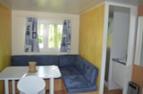 Huuraccommodaties - Mobile-home STANDARD PACIFIC - 2 bedrooms + terrace - - Camping Baie de Térénez