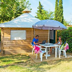 Location - Simply Lodge (Dimanche) - Camping Lou Pantai