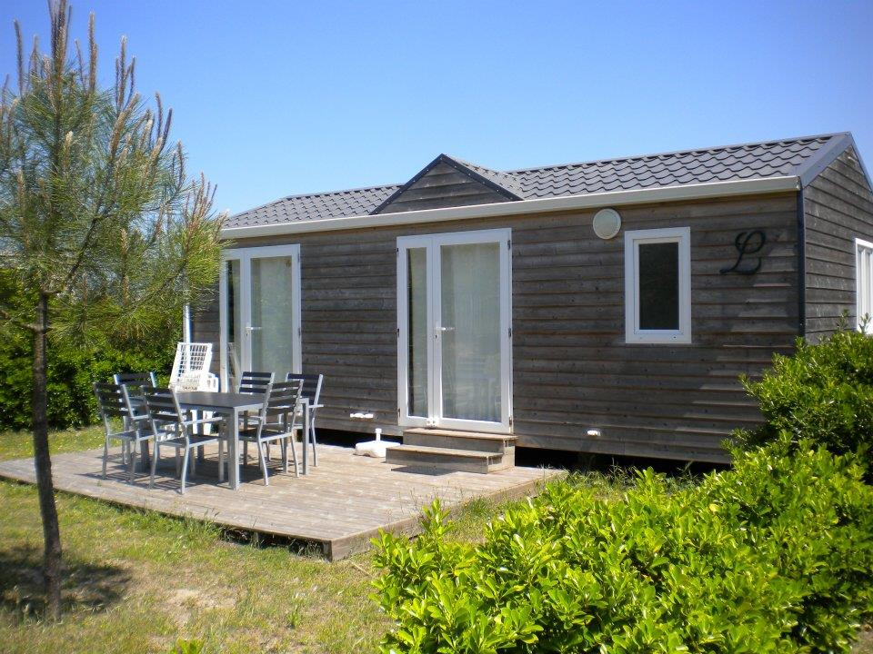 Location - Mobil-Home 2 Chambres Bien Etre - Camping Les Baleines