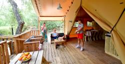 Bergerie Lodge - 2 Bedrooms + 1 Cabin-Bed - No Airco
