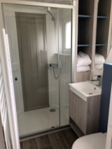 Rental - Mobile-home OTELLO LUXE - 1 bedroom - Jacuzzi - Camping Monaco Parc