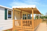 Rental - Mobile-Home Pmr - 2 Bedrooms - Adapted To The People With Reduced Mobility - Camping Monaco Parc