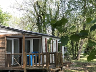 Mobile-Home L'authentique - 2 Bedrooms (Unusual Lodging)