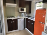 Rental - Mobile-home L'Authentique - 2 bedrooms (Unusual Lodging) - Camping Monaco Parc