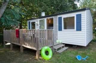 Mobile home Confort - 2 bedrooms + Outdoor wood terrace (> 3 years)