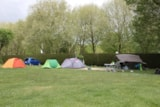Pitch - Pitch + vehicle + tent - Camping Ile de Boulancourt