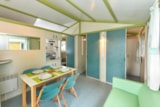 Rental - Chalet CONFORT 25m² (2 bedrooms) + sheltered terrace - Flower Camping le Kergariou