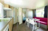 Rental - Mobile home CONFORT+ Lancelot 27m² (2 bedrooms) + terrace - Flower Camping le Kergariou